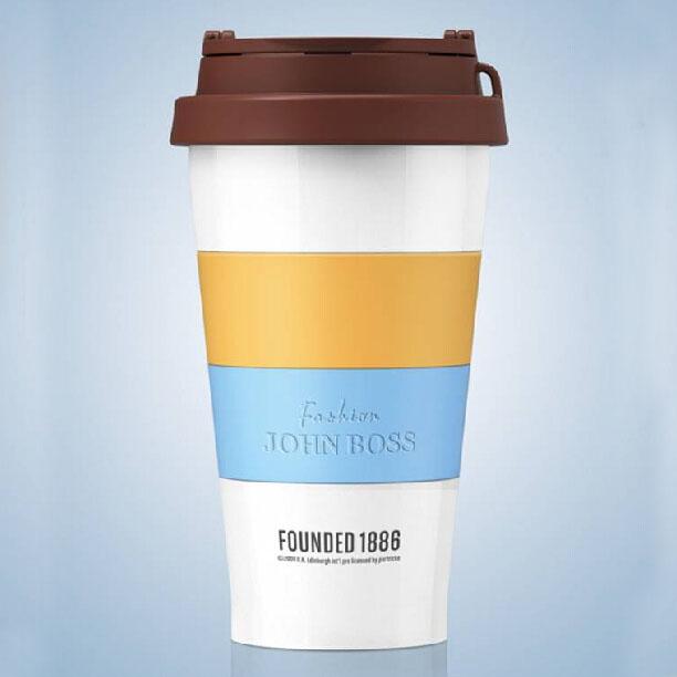 星巴克样式咖啡杯保温杯