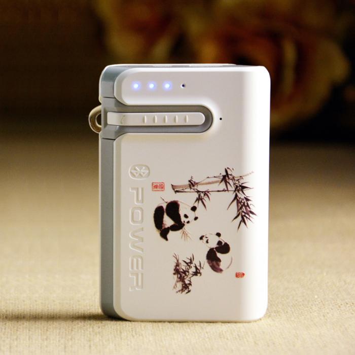 手机伴侣:蓝牙耳机移动电源二合一 熊猫款