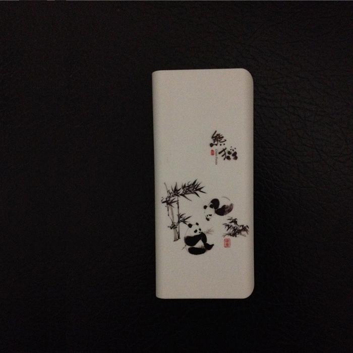 10000毫安移动电源 充电宝 熊猫图案