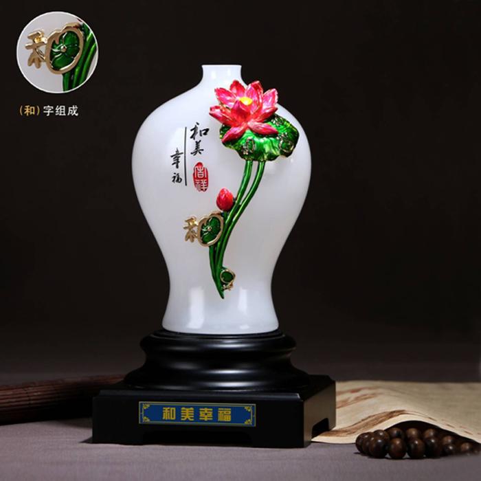 和美幸福 花瓶摆件