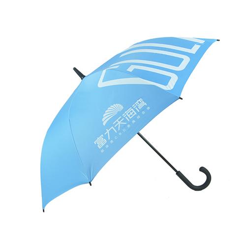 直杆广告伞