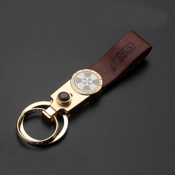 玫瑰金拉丝钥匙扣