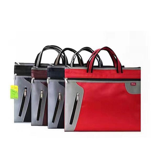 成都A4手提文件袋 会议文件包 帆布手提袋 订制印刷