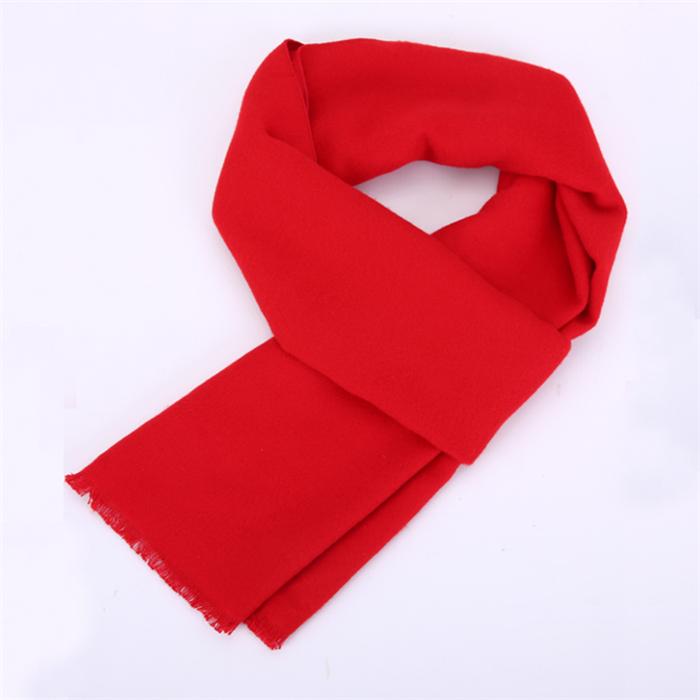 成都市大红围巾绣字logo
